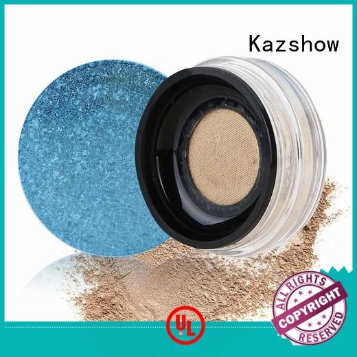 Kazshow popular translucent face powder directly price for young ladies