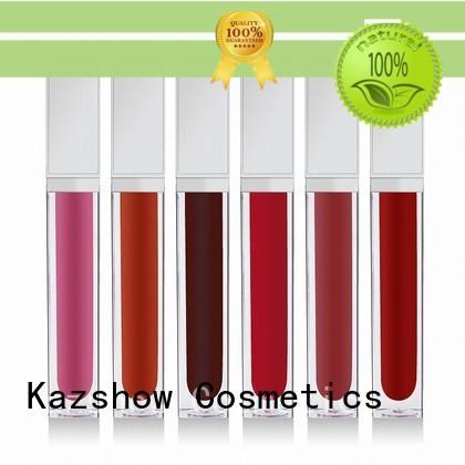Kazshow high shine lip gloss environmental protection for lip makeup