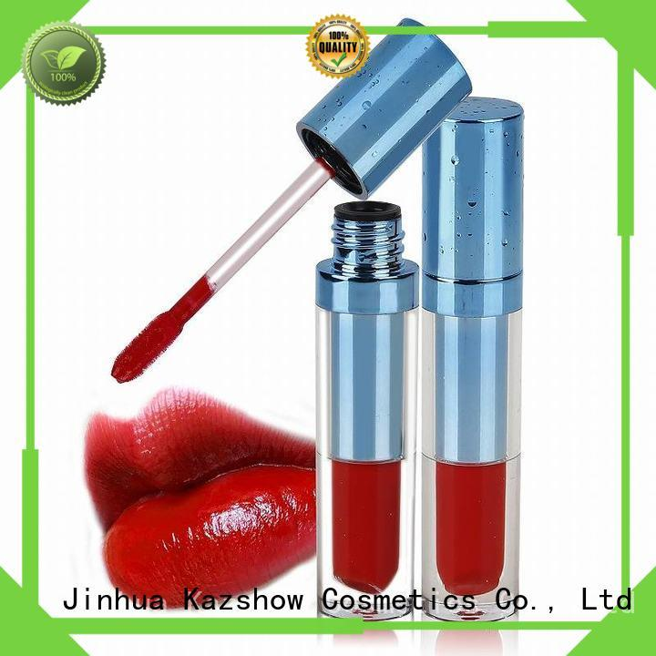 Kazshow sparkly red lip gloss china online shopping sites for lip makeup