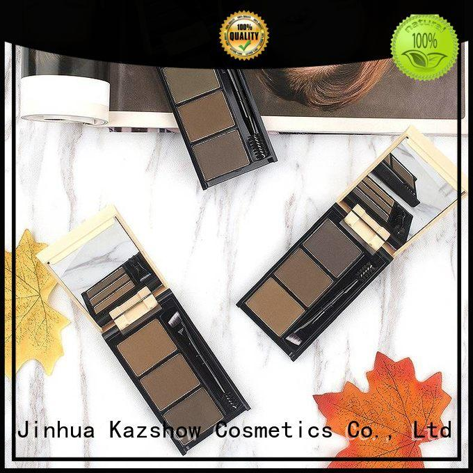 Kazshow waterproof eyebrow filler powder wholesale products to sell for eyebrow