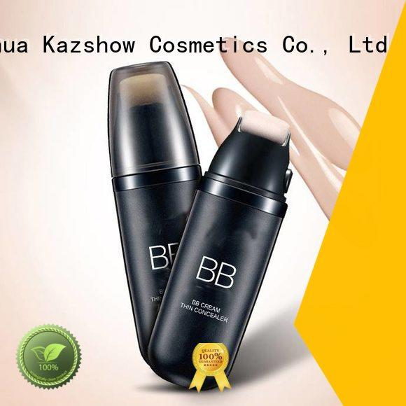 Kazshow silky best long lasting foundation promotion for face cosmetic