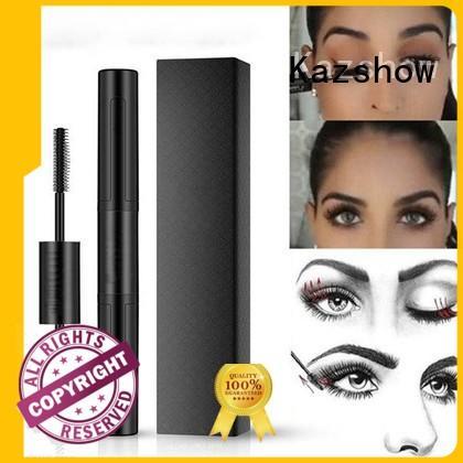 Kazshow eyelash curling mascara wholesale products for sale for eyes makeup