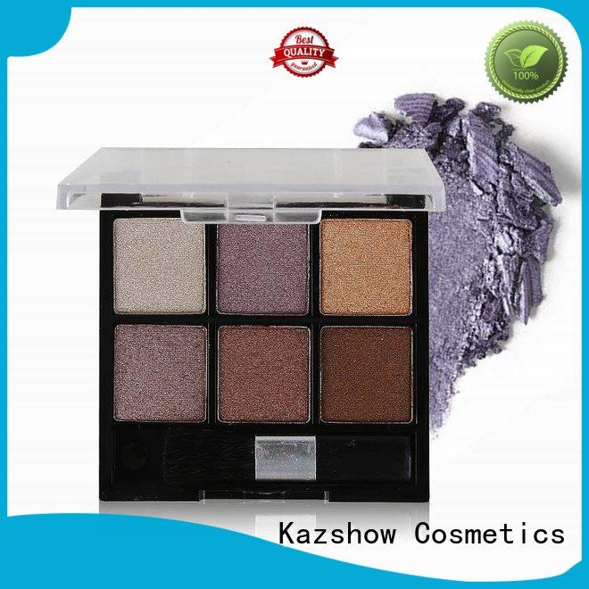 Kazshow various colors eyeshadow makeup china products online for women