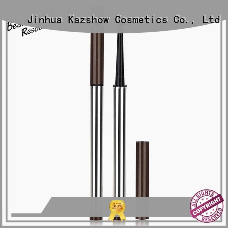 Kazshow customize coloured eyeliner pencils for eyes makeup