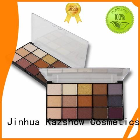 Kazshow glitter eyeshadow palette manufacturer for beauty