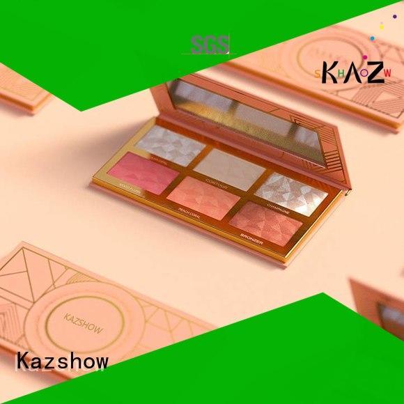 Kazshow nice design cheek blush supplier for highlight makeup