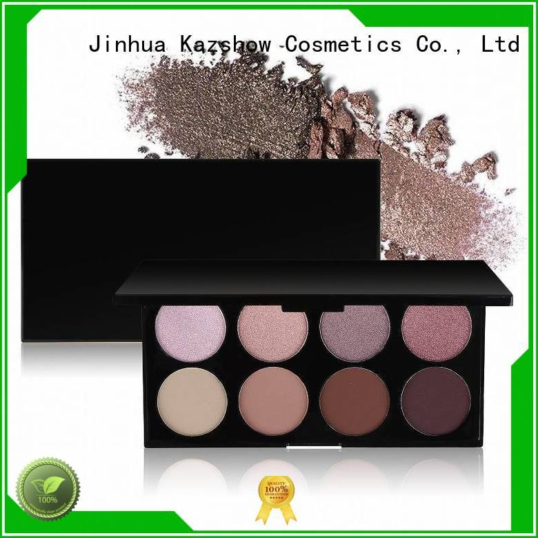 Kazshow glitter makeup palette wholesale products for sale for beauty